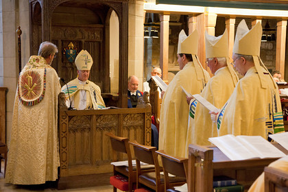 Enthronement of Right Rev Nick Baines as Bishop of Leeds 170714