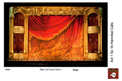 Phantom MEG Tour Stage SET Scenes