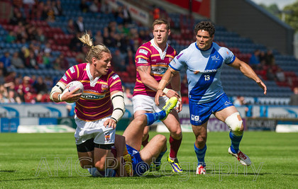 Huddersfield v Widnes - 17th August 2014