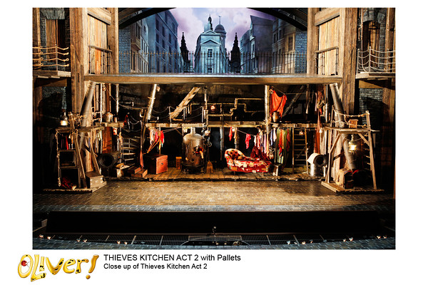 Oliver Stage Set & Details UK