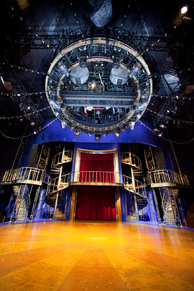 Barnum Set & Truss Images (Arty & Technical)
