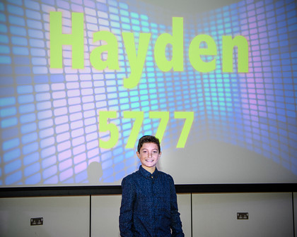 HAYDEN'S BARMITZVAH PARTY