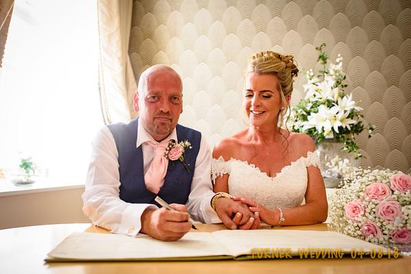 MR & MRS TURNER  MR AND MRS TURNER'S WEDDING. 04-08-2018