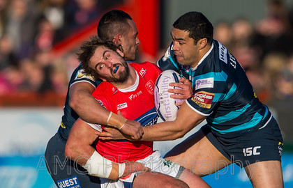 Hull KR v Leeds - 8th February 2015