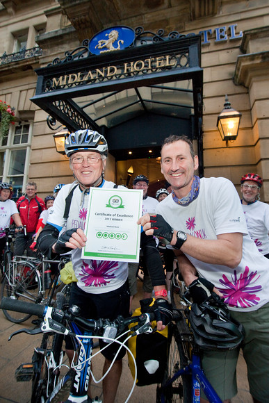 Midland Hotel Trip Advisor Cyclists Welcome