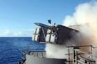 020904-N-1058W-005   Sally Jr   Keywords: launcher, missile, nato, rim-7, sea sparrow