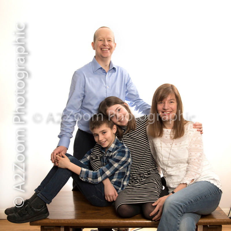 John and Jo Weston  John, Jo, Ellie and Dan  Images now ready to view.  Photography by A2Zoom Photographic, Knebworth covering assignments though out the UK and Europe