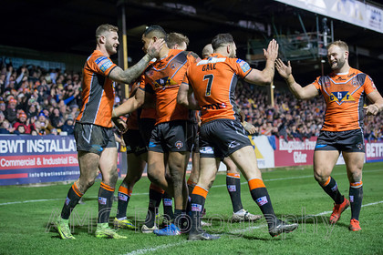 Castleford v Leeds - 2nd March 2017