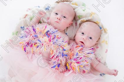 Twins Arabella & Florence