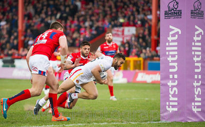 Hull KR v Catalans - 15th March 2015