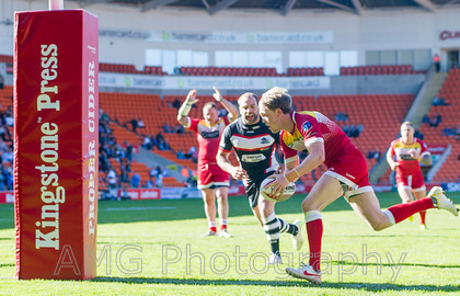 London Broncos v Sheffield Eagles - 23rd May 2015