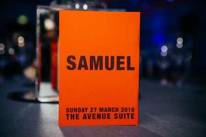 SAMUEL'S BARMITZVAH PARTY