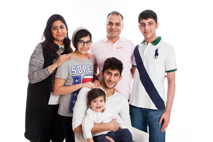 Sameer's Family Portraits HR