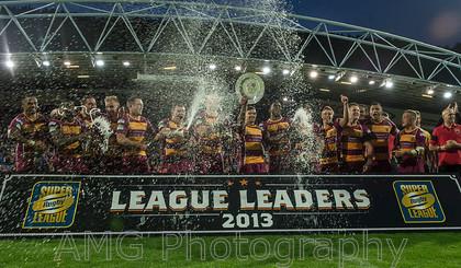 Huddersfield v Wakefield - 1st September 2013