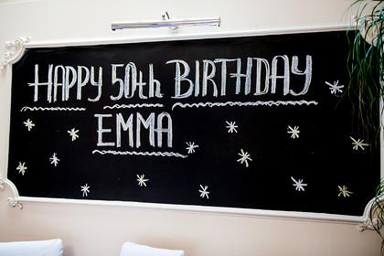 EMMA'S 50TH