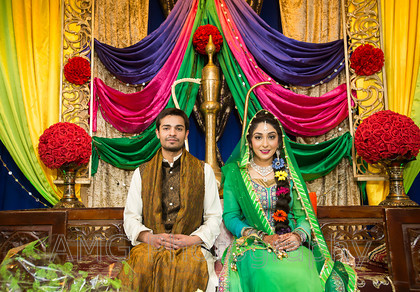 Afshan & Zohaib - The Mehndi - 25th March 2016