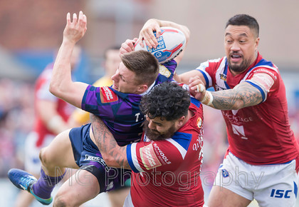 Wakefield v Wigan - 17th April 2017