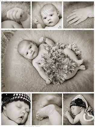 Baby Elsie 5 weeks