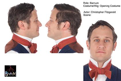 Barnum Wigs & Make Up Bible Page Layouts