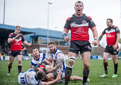 Normanton Knights v Workington Town - 15th March 2014