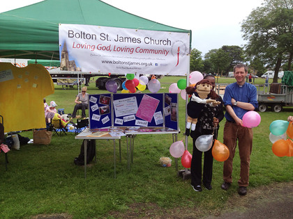 St James Church at Peels on Wheels Event 220614