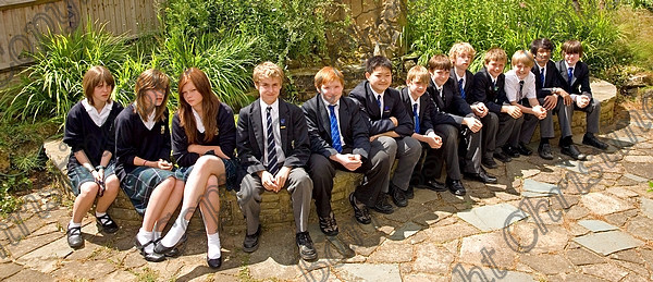 Schools Aberdour Leavers 2008