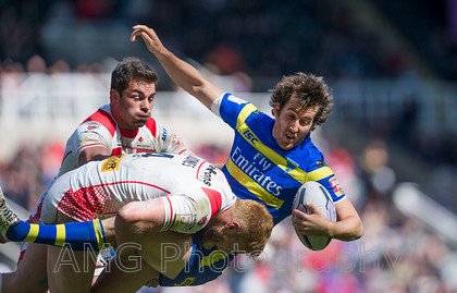 St Helens v Warrington - 31st May 2015
