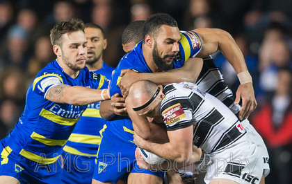 Hull FC v Warrington - 13th February 2015