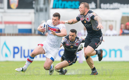 Wakefield v Salford - 14th June 2015