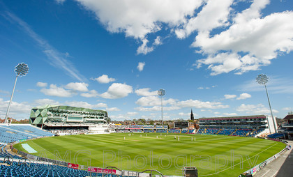 Yorkshire v Warwickshire - 26th April 2015