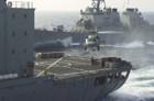 011218-N-0659H-001   Bob Jr   Keywords: CV 63, USS Kitty Hawk