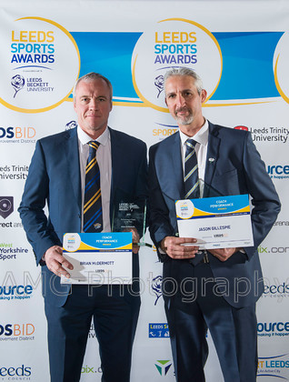 Leeds Sports Awards - 3rd March 2016