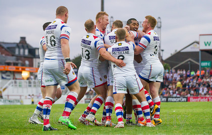 Wakefield v Widnes - 10th July 2014