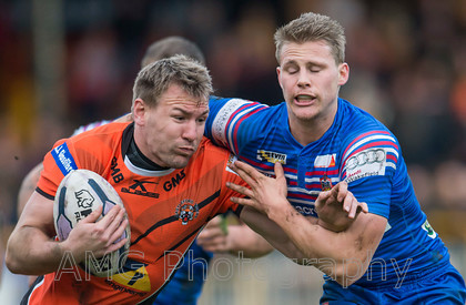 Castleford v Wakefield - 24th January 2016
