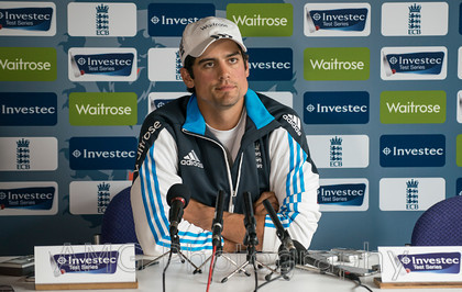 England v Sri Lanka - Press Conference 19th June 2014