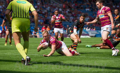 Huddersfield v Catalans - 27th July 2014