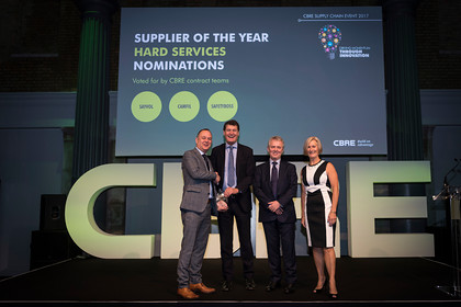 CBRE Supllier Awards 2017 Old Billingsgate, London 