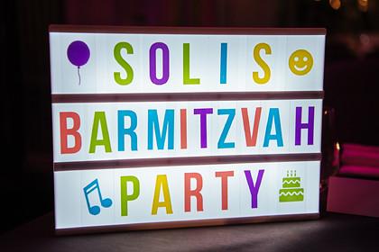 SOLI'S BARMITZVAH