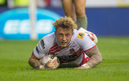 Wigan v Salford - 31st July 2014