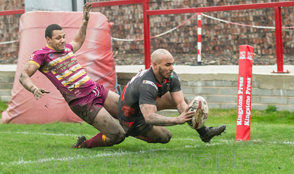 Batley Bulldogs v Halifax - 12th January 2014
