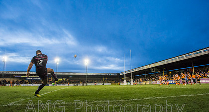 Castleford v Widnes - 25th January 2015