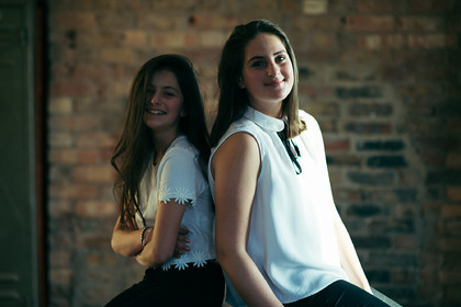 SARA & TALIA STUDIO SHOOT