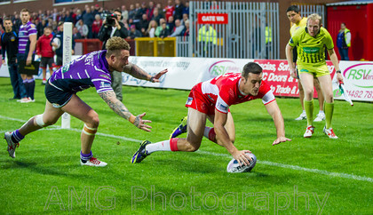 Hull KR v Wigan - 14th August 2014