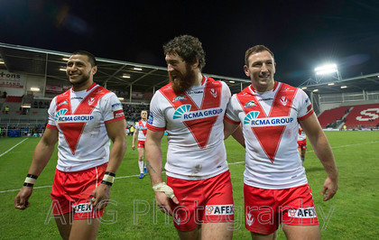 St Helens v Leeds - 9th February 2017