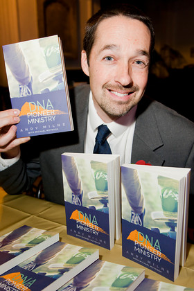 Andy Milne DNA Pioneer Ministry Book Launch