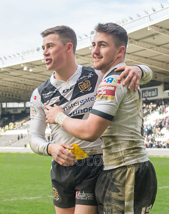 Hull FC v Warrington - 28th March 2016