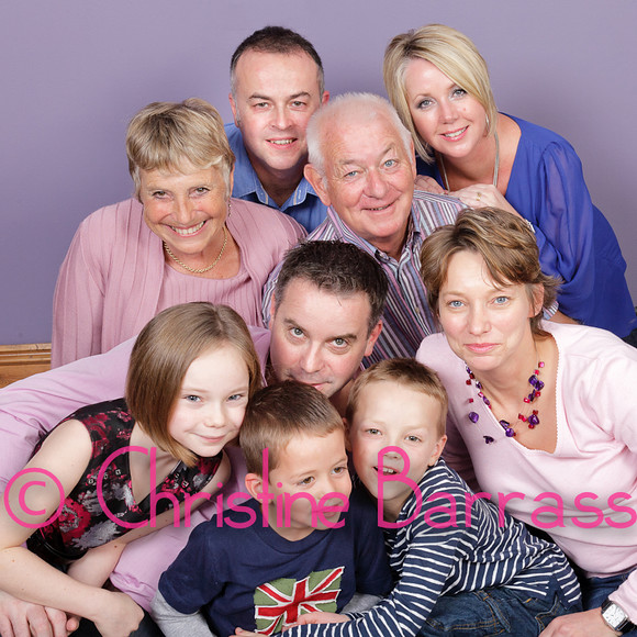 Helen, John & Family 