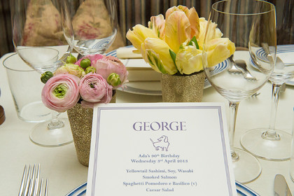 MAMA'S 90TH AT GEORGE
