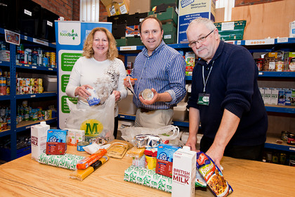 Watermill Press at Bradford Central Foodbank