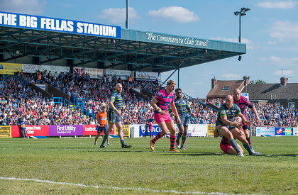 Featherstone v Leeds - 6th August 2016